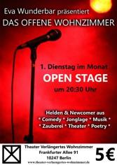 Open Stage Im Theater Verlngertes Wohnzimmer In Berlin